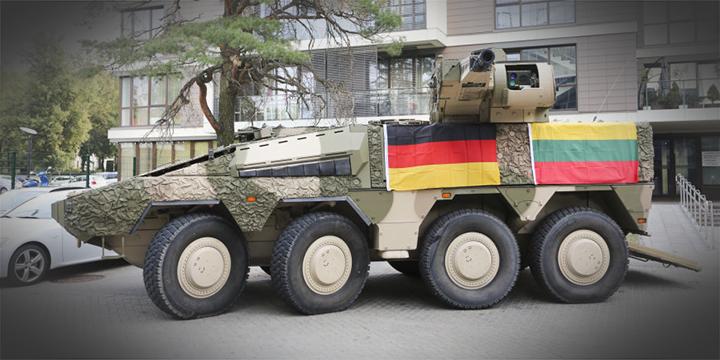 Боевая машина пехоты Boxer