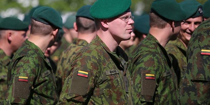 Литовские солдаты