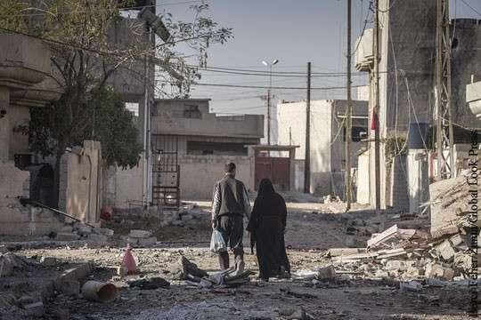 Американские ВВС разбомбили иракских военных под Мосулом чтобы спасти своих из ИГИЛ