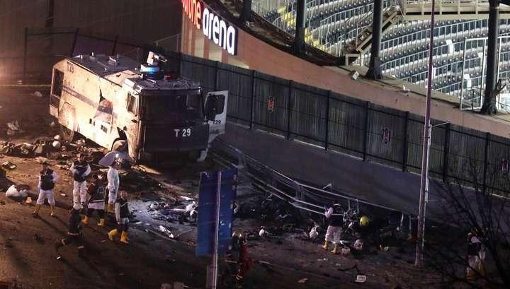 В Турции объявлен национальный траур из-за двойного теракта в Стамбуле
