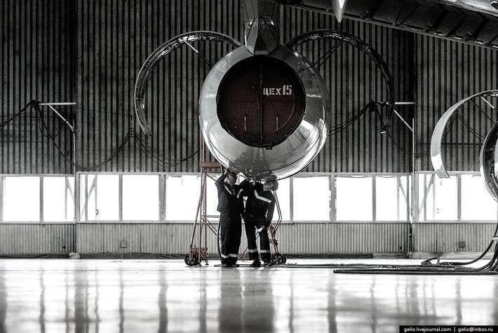 Производство самолётов Ил-96-300 и Ан-148. Воронежский авиазавод ВАСО