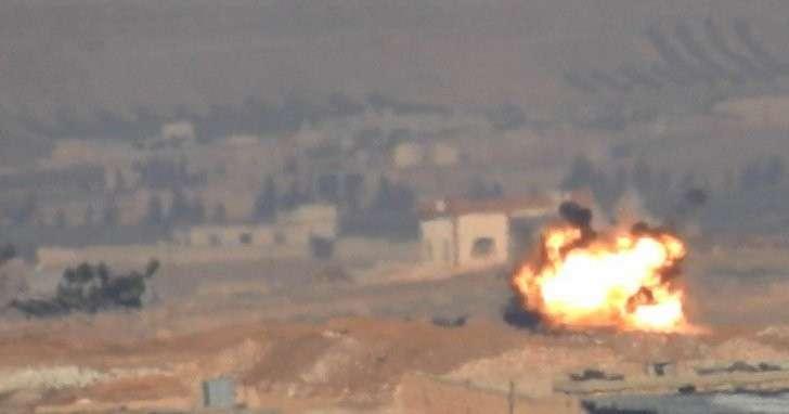 В Сирии подстрелен первый турецкий танк Leopard 2