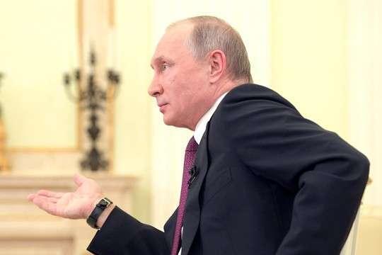 Владимир Путин: Говорить об исключительности США совершенно избыточно