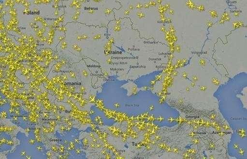ИАТА: ответственность за безопасность своего воздушного пространства несет только Украина