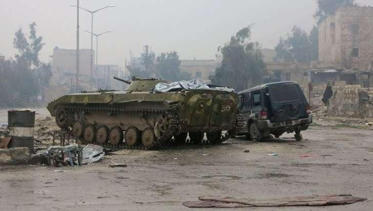 Боевики возобновили бои вместо выполнения договоренности о выходе из Алеппо