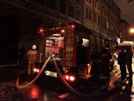 В центре Санкт-Петербурга прогремел несильный взрыв