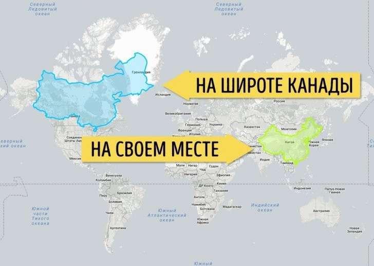 Карты, которые позволят взглянуть на мир без искажений
