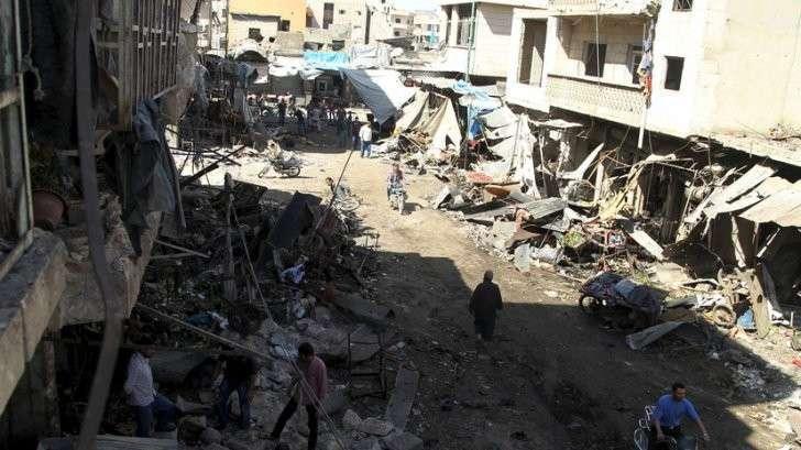 Геноцид и казни вместо праздника: как СМИ паразитов подают новости из Алеппо