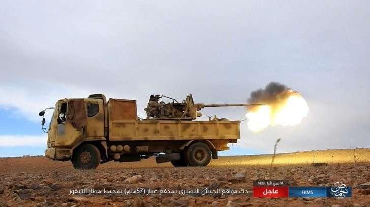 Бои за Пальмиру(Тияс Т4): наши упёрлись и сдерживают атаки боевиков