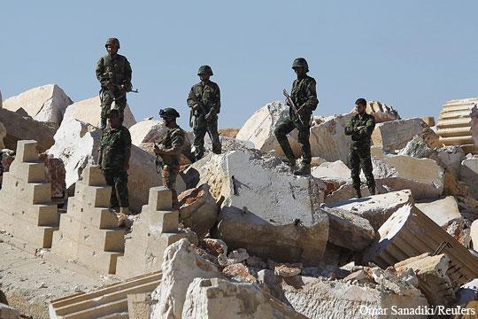 Сирийской армии под Пальмирой удалось не допустить самого страшного