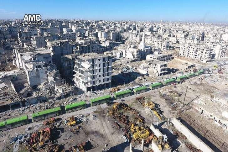 Алеппо освобождён: проводится зачистка территории