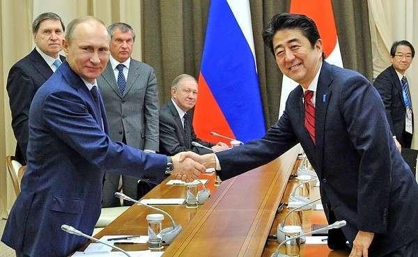Россия и Япония подписали десятки крупных соглашений