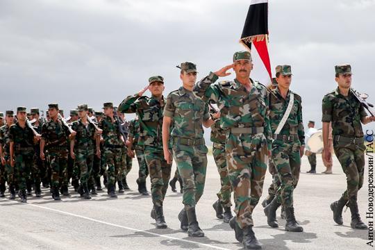 После Алеппо: Сирийской армии жизненно необходима реформа