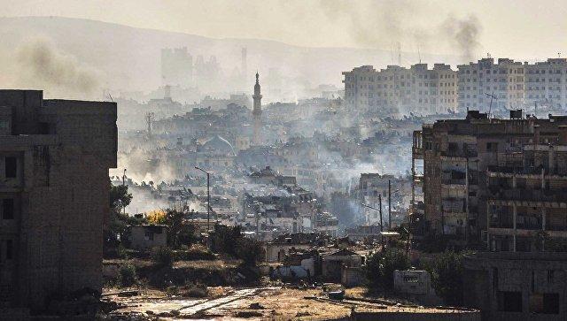 В Алеппо боевики при выходе из города попытались захватить пленных и начали стрельбу