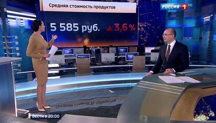 «Индекс оливье»: во сколько обойдётся праздничный стол русской семье из 4-х человек
