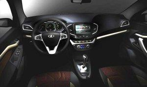 АвтоВАЗ рассекретил интерьер Lada Vesta