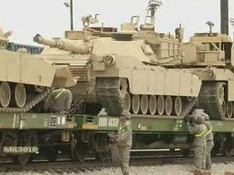 Американские старые танки возвращаются в Европу якобы из-за «российской угрозы»