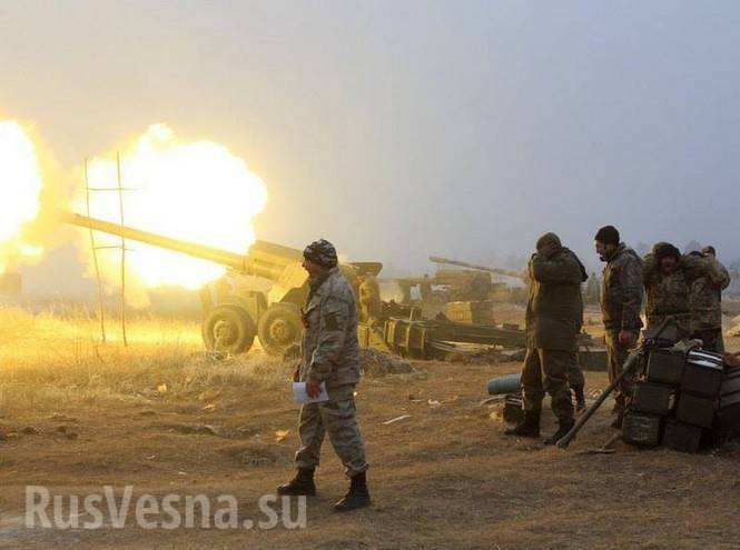 Видео с места боев под Дебальцево — ВСУ атакуют и несут потери