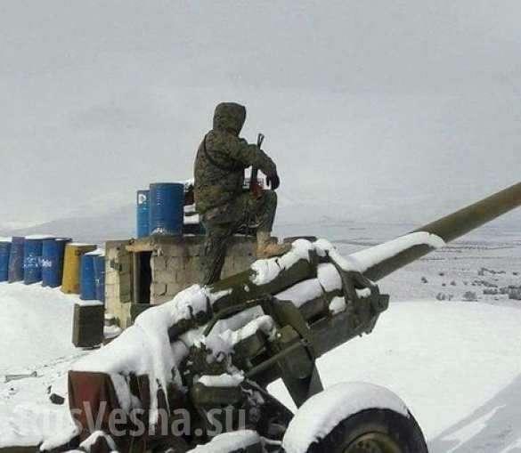 Кадры боев: ВКС РФ и Армия Сирии контратакуют наёмников США под Пальмирой | Русская весна