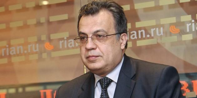 В Турции расстреляли российского посла Андрея Карлова