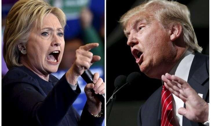 Дональд Трамп окончательно победил на выборах неадекватную Хиллари Клинтон