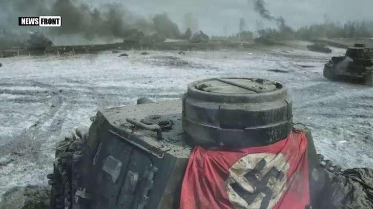 Свободный показ кинофильма «28 панфиловцев» военнослужащим НМ ДНР в Донецке