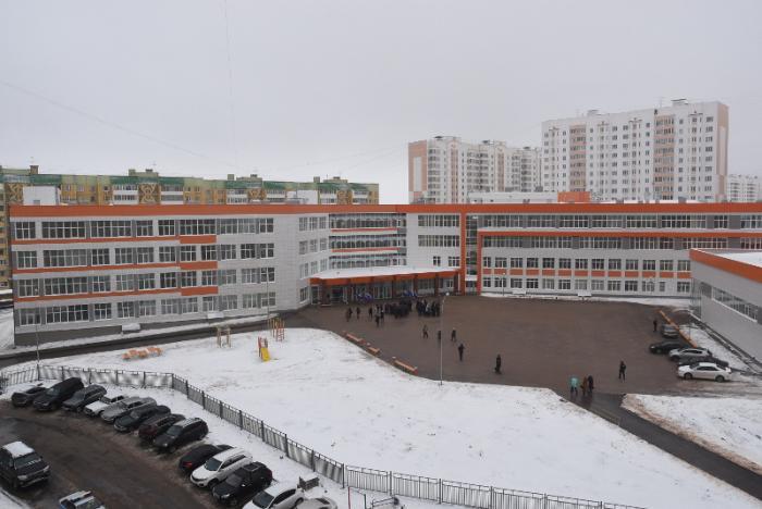 В Курске открыта новая школа, рассчитанная на 792 ученика
