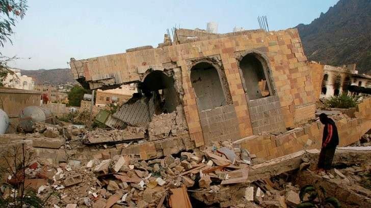Англия призналась в производстве кассетных бомб, которыми бомбили Йемен