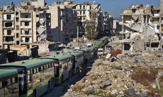 Западные страны и гуманитарные организации не спешат направлять помощь Алеппо