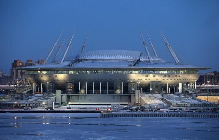 Стоимость строительства «Зенит-Арены» уже составила 41 млрд. рублей