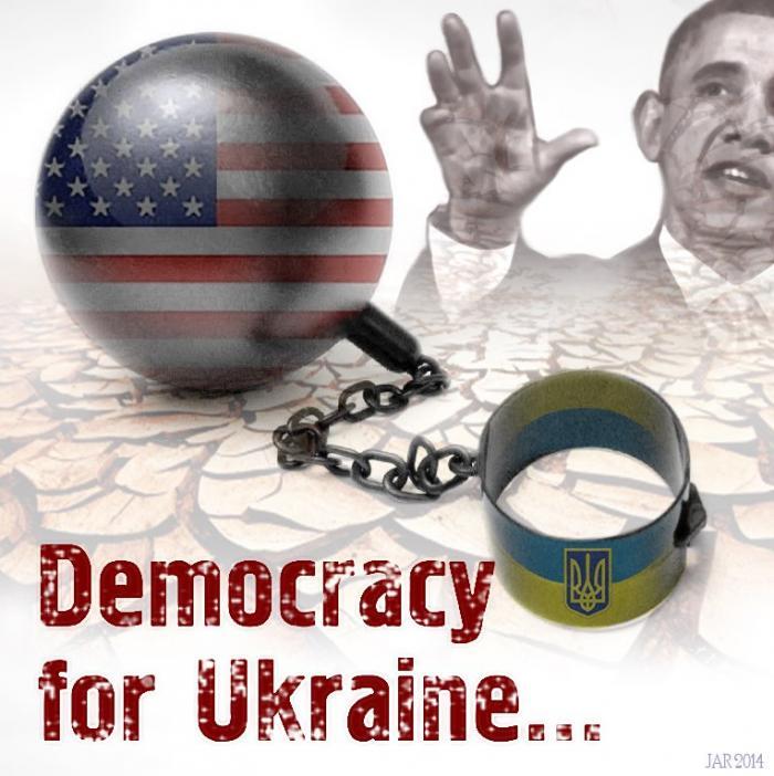 Новое письмо из Киева: везде хозяйничает Вашингтон
