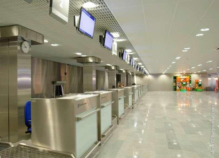 В Тюмени завершена реконструкция международного аэропорта Рощино