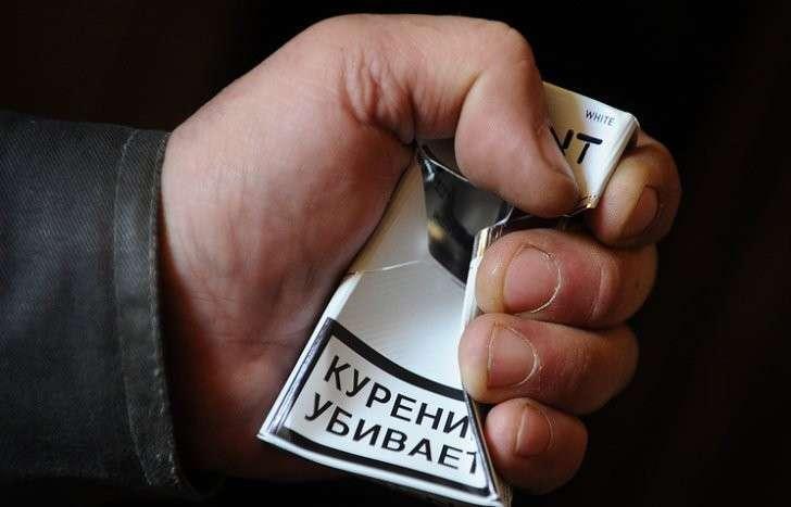 Антитабачные меры за 5 лет сократили долю курящих мужчин на 34%