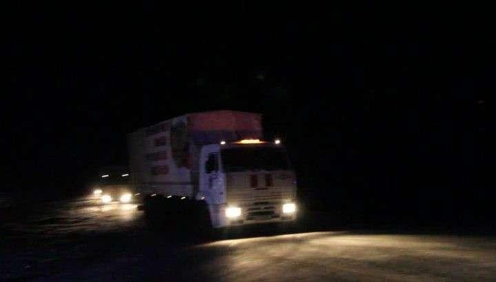 Очередная гуманитарная колонна МЧС привезёт в Донбасс новогодние подарки