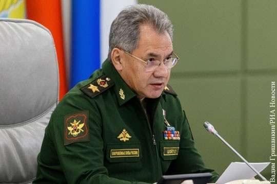 Шойгу: По всему периметру России создано сплошное радиолокационное поле