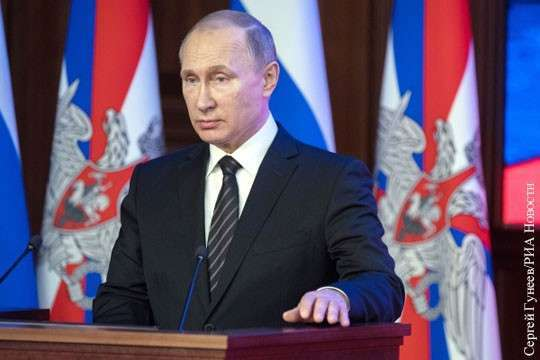 Владимир Путин: Россия сильнее любого потенциального агрессора