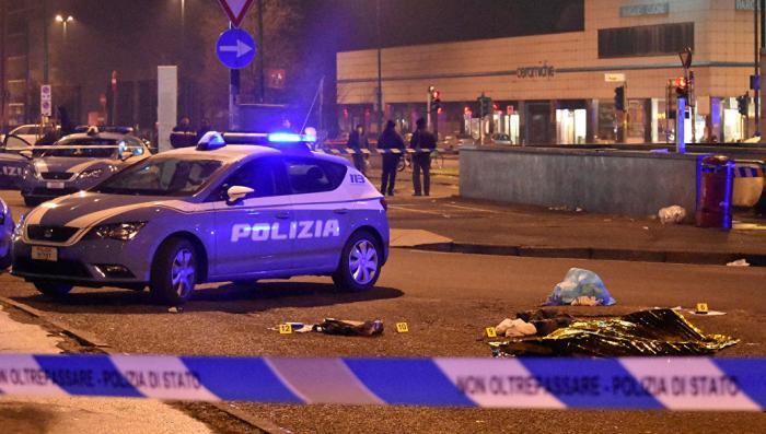 Полиция в Милане застрелила подозреваемого в берлинском теракте