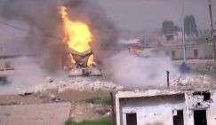 Уничтожение танков американского производства управляемыми ракетами