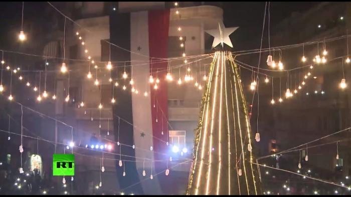 Христиане в Алеппо празднуют первое за несколько лет Рождество без войны