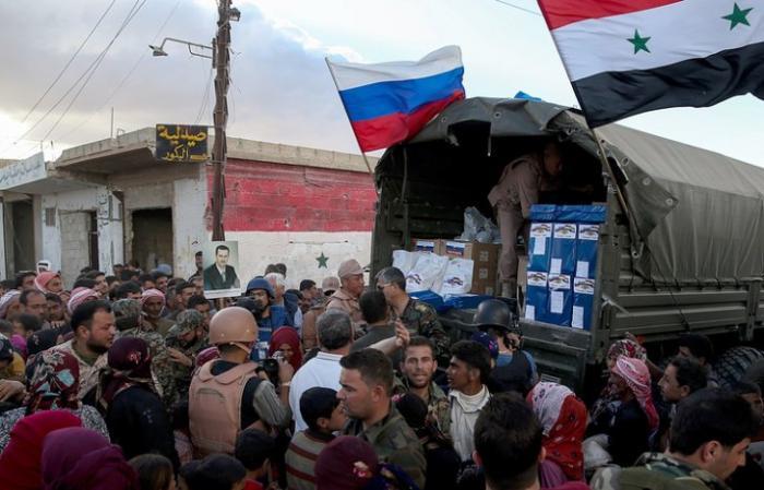Фонд Ахмата Кадырова отправил 80 тонн продуктов жителям Сирии
