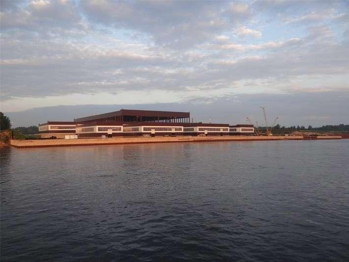 Строительство новой производственной площадки судостроительного завода «Пелла»