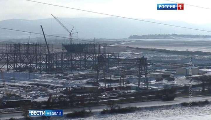 Крымский мост стремительно растет