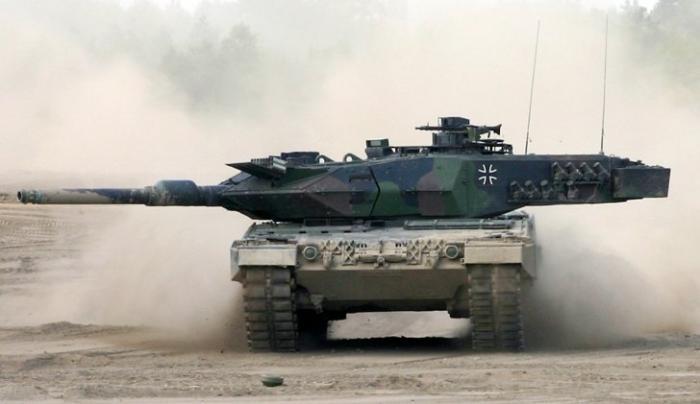 В Сирии под ударами русских фоготов горят немецкие танки Леопард