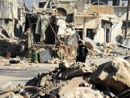 Семь огромных складов с боеприпасами обнаружили в Алеппо