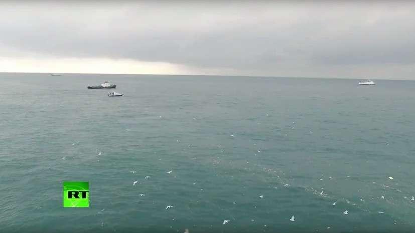 В МО заявили об окончании обследования надводной поверхности в районе крушения Ту-154