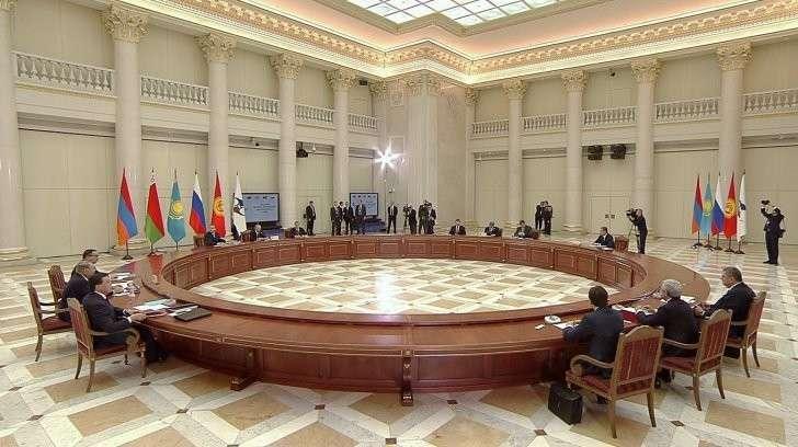 В Санкт-Петербурге состоялось заседание Высшего Евразийского экономического совета