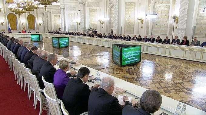 Владимир Путин провел заседание по вопросу об экологическом развитии РФ в интересах будущих поколений
