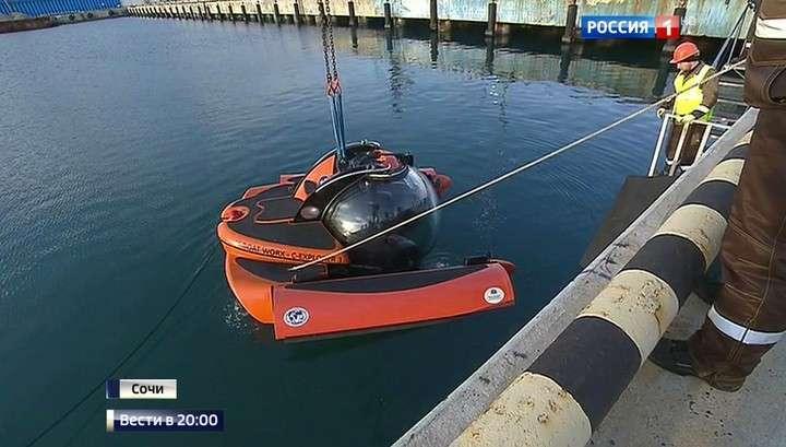 Поиск под водой: водолазы подняли черные ящики и обломки разбившегося у Сочи Ту-154