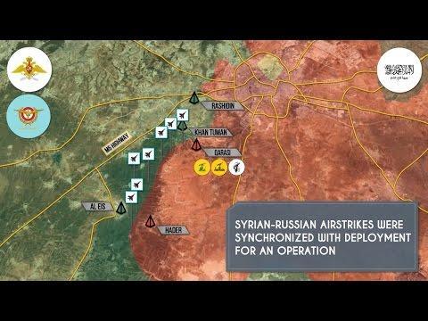 Военная обстановка в Сирии. Найдены массовые захоронения в Алеппо. Русский перевод.