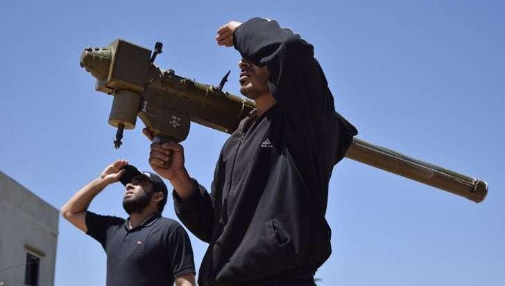 Америка и мировое правительство усиленно вооружают своих наёмников в Сирии